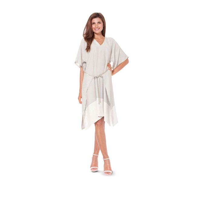 burda 6936 for clooney dress
