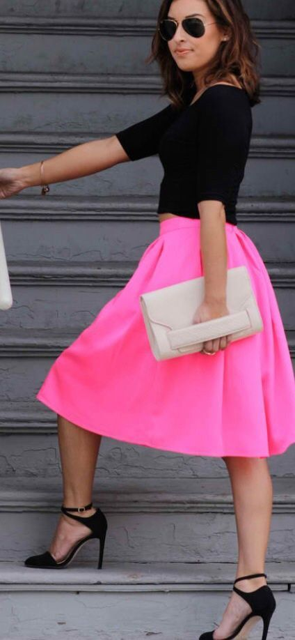 hot-act-neon-pink-midi-skirt-personal-style-julie-williams-lulus-cute-fdf1b