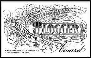 My first blogger award!