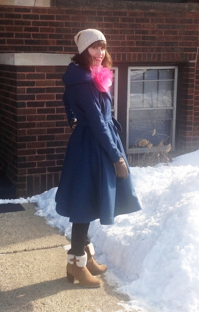 The Gertie Coat, a Butterick pattern