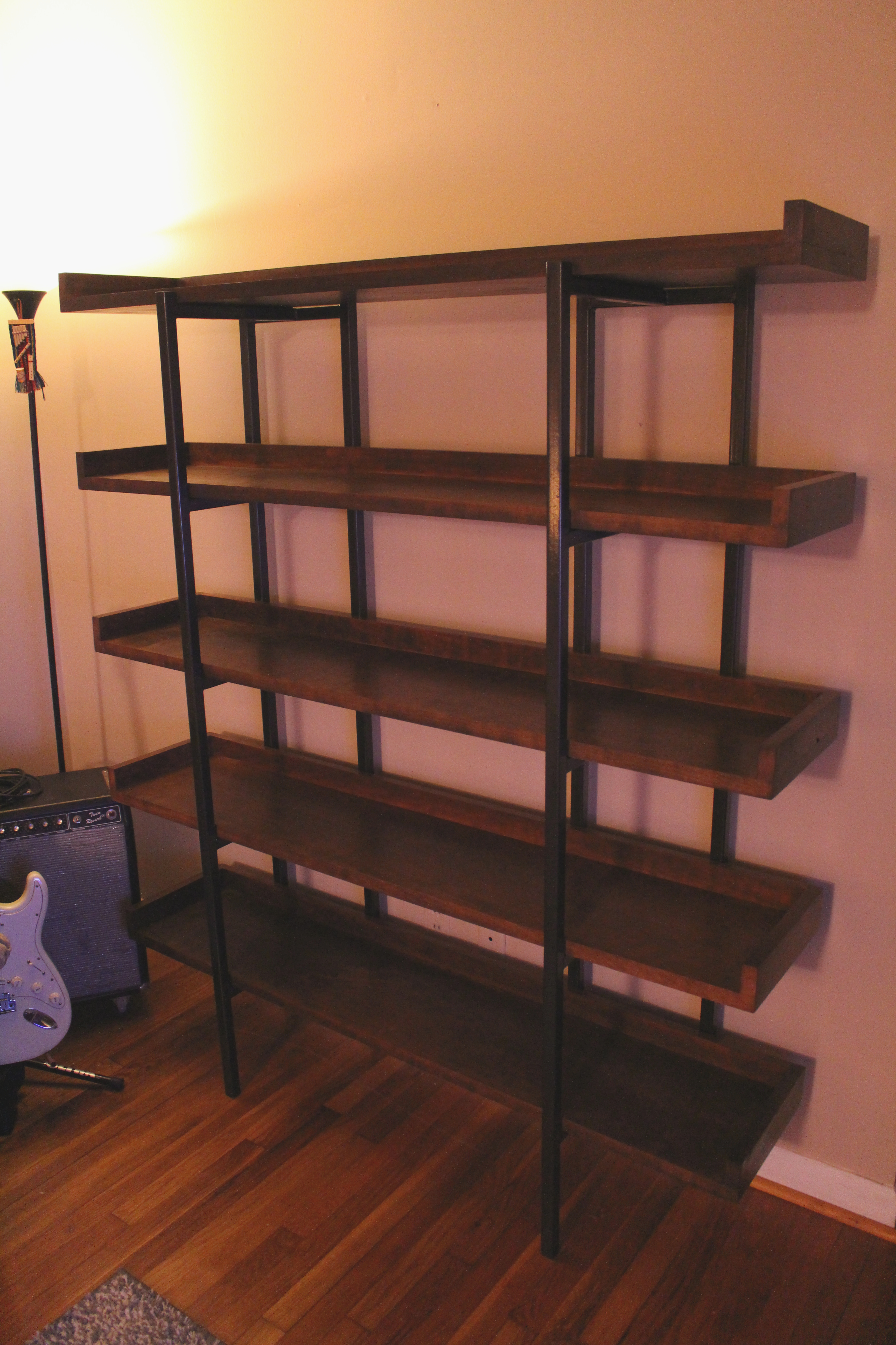 simple bookcase and homebnc for diy easy crate bookshelf best stacked designs ideas