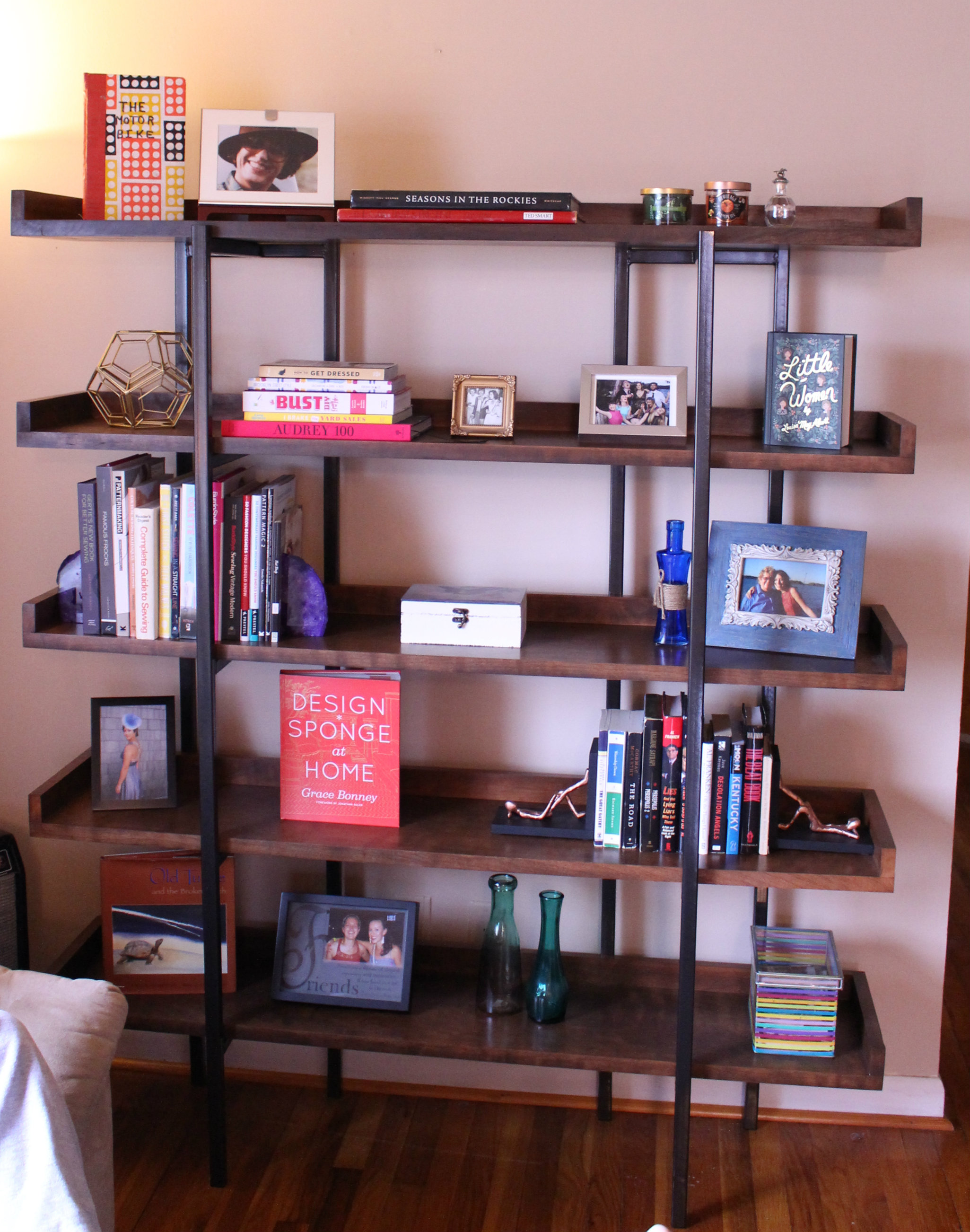 final bookcase 2 - Crate And Barrel Bookshelves