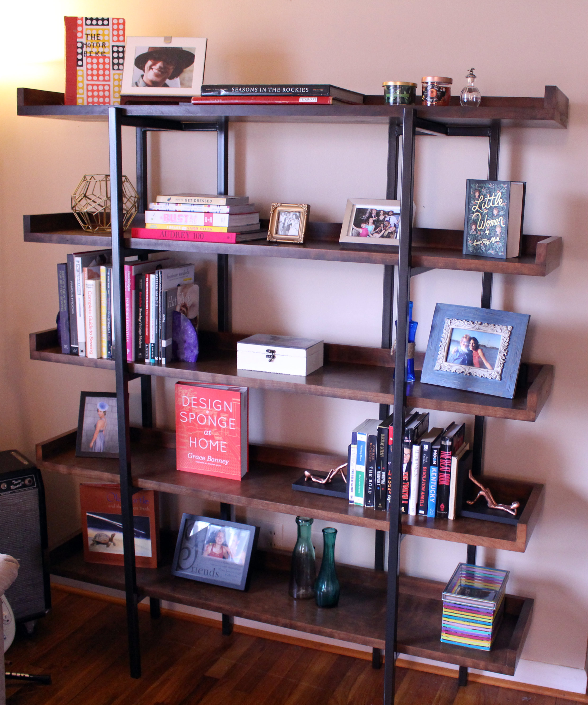 final bookcase - Crate And Barrel Bookshelves